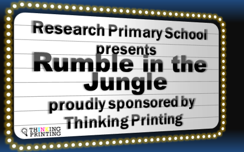 Rumble in the Jungle Whole School Production